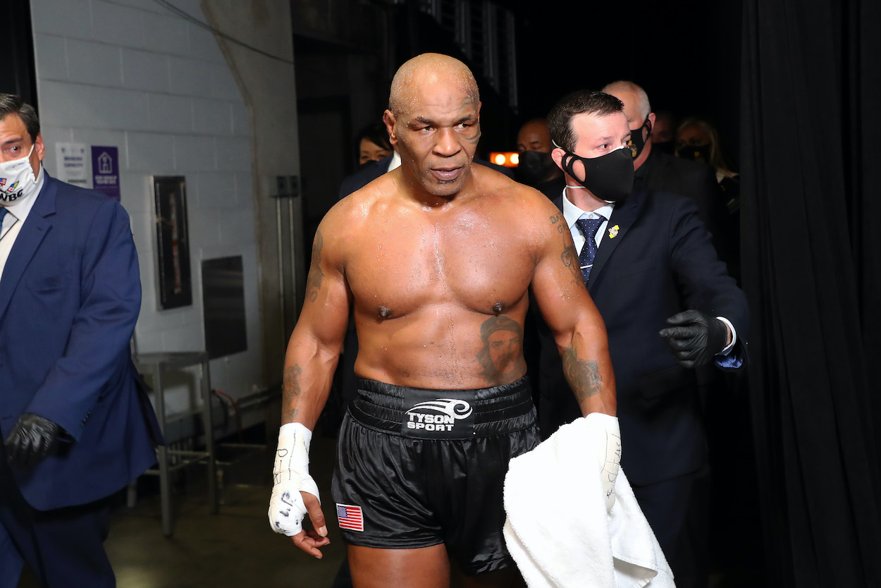 Mike Tyson Shockingly Admits He Was 'Almost Suicidal' Until Psychedelic Mushrooms Saved His Life
