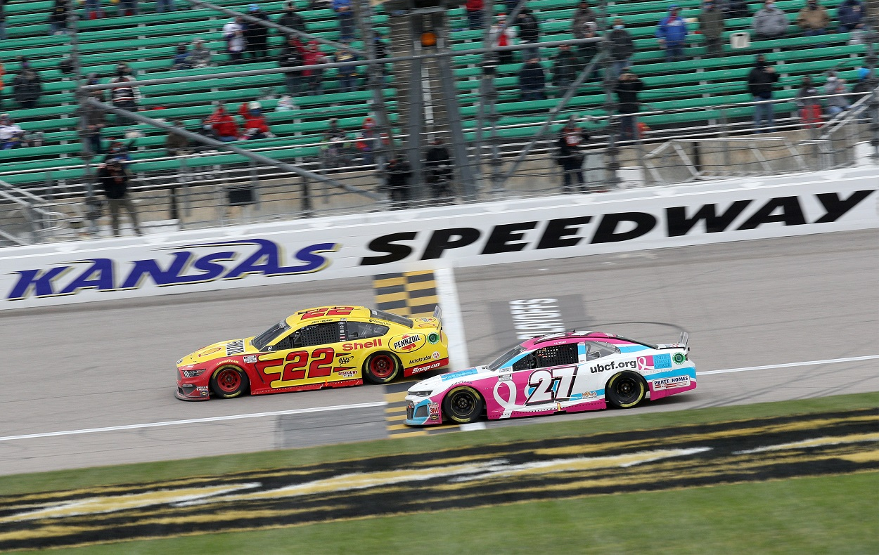 Who Has the Most NASCAR Cup Series Victories at Kansas Speedway?