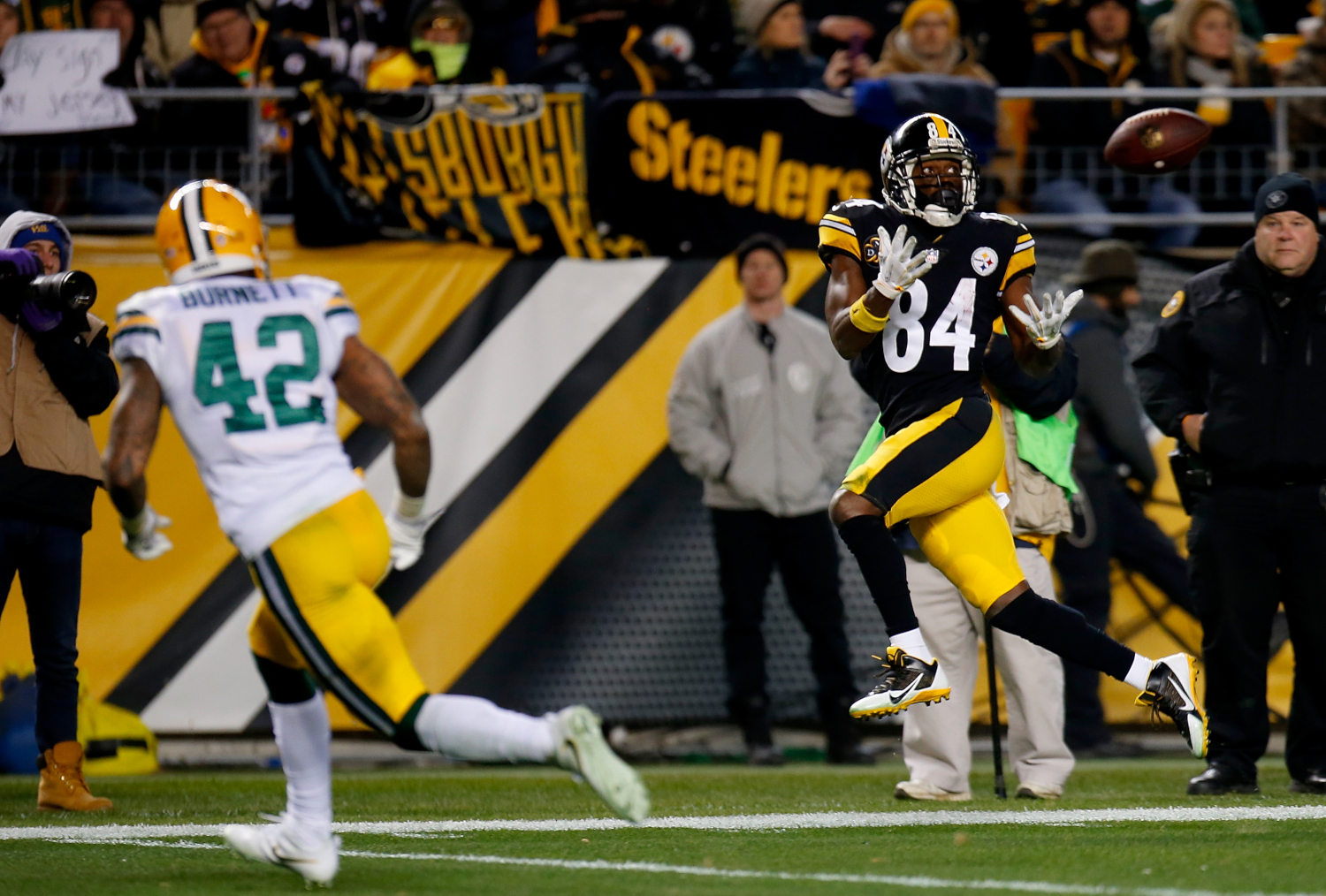 Antonio Brown rose from the sixth round of the NFL draft to become a 4-time All-Pro