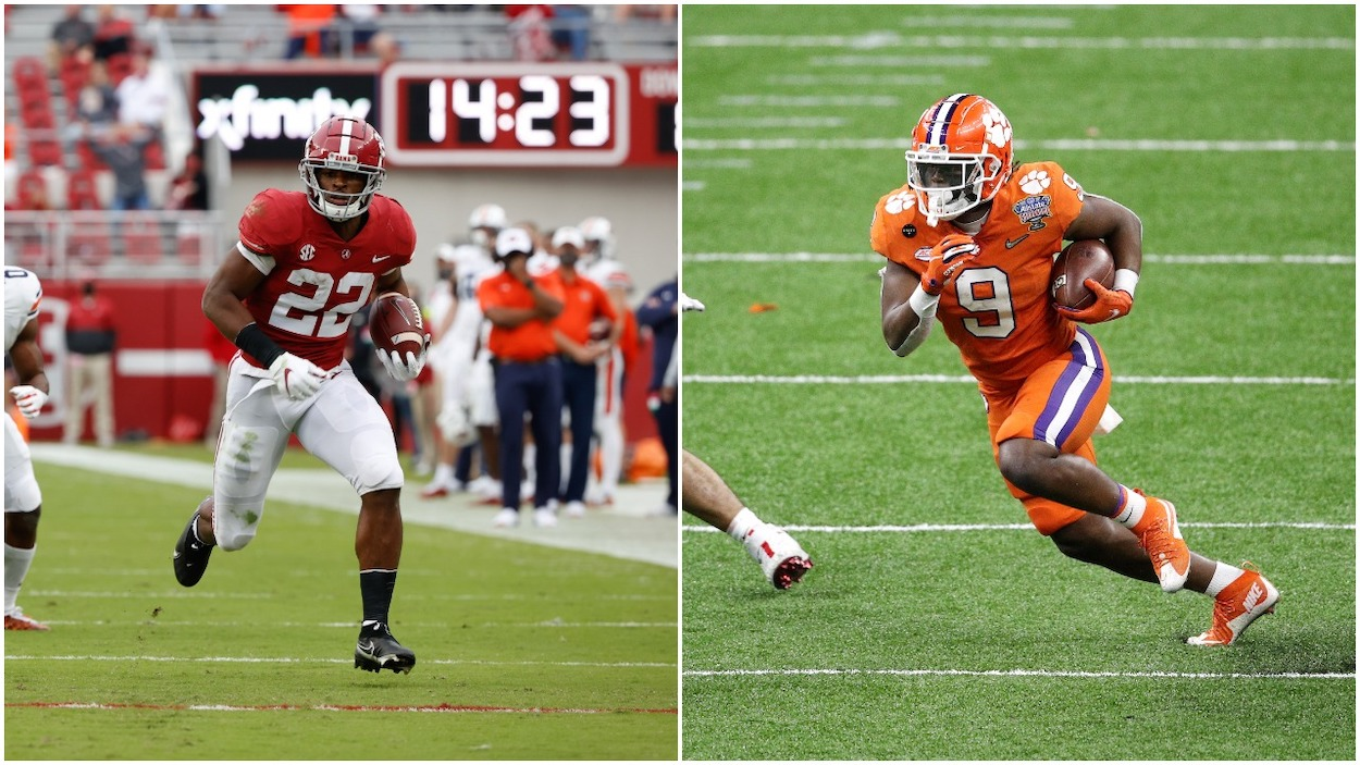 Travis Etienne and Najee Harris Can Change the Stigma of Drafting 1st Round Running Backs