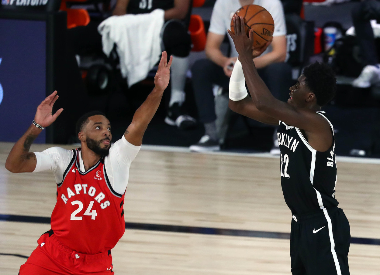 Brooklyn Nets and Toronto Raptors in the NBA Playoffs