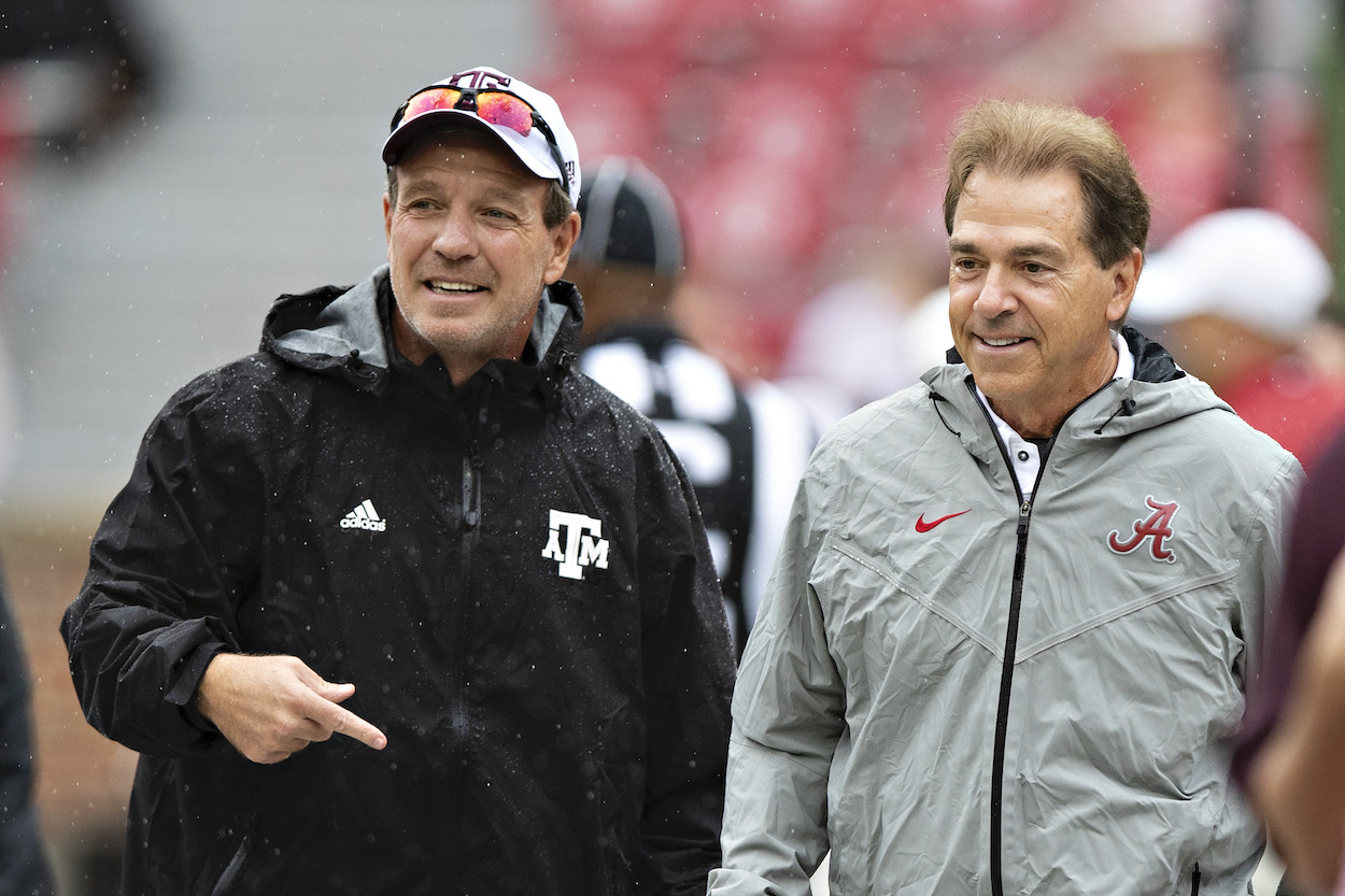 Jimbo Fisher Makes Bold Statement and Trash-Talks Alabama's Nick Saban: 'We're Going to Beat His Ass'