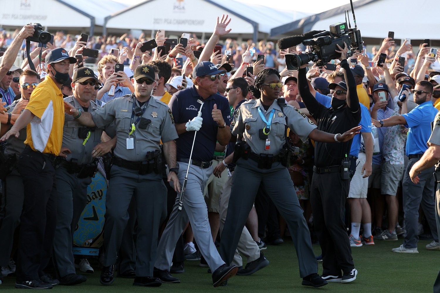 Brooks Koepka Has Every Right To Be Furious Over the PGA Championship Mob Scene That Too Many People Think Was Cool