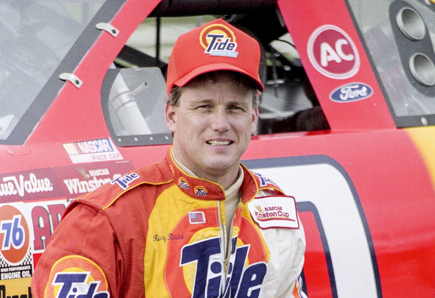 Ricky Rudd hadn't raced stock cars before entering his first NASCAR Cup series race in 1975 as an 18-year-old.   Brian Cleary/Getty Images