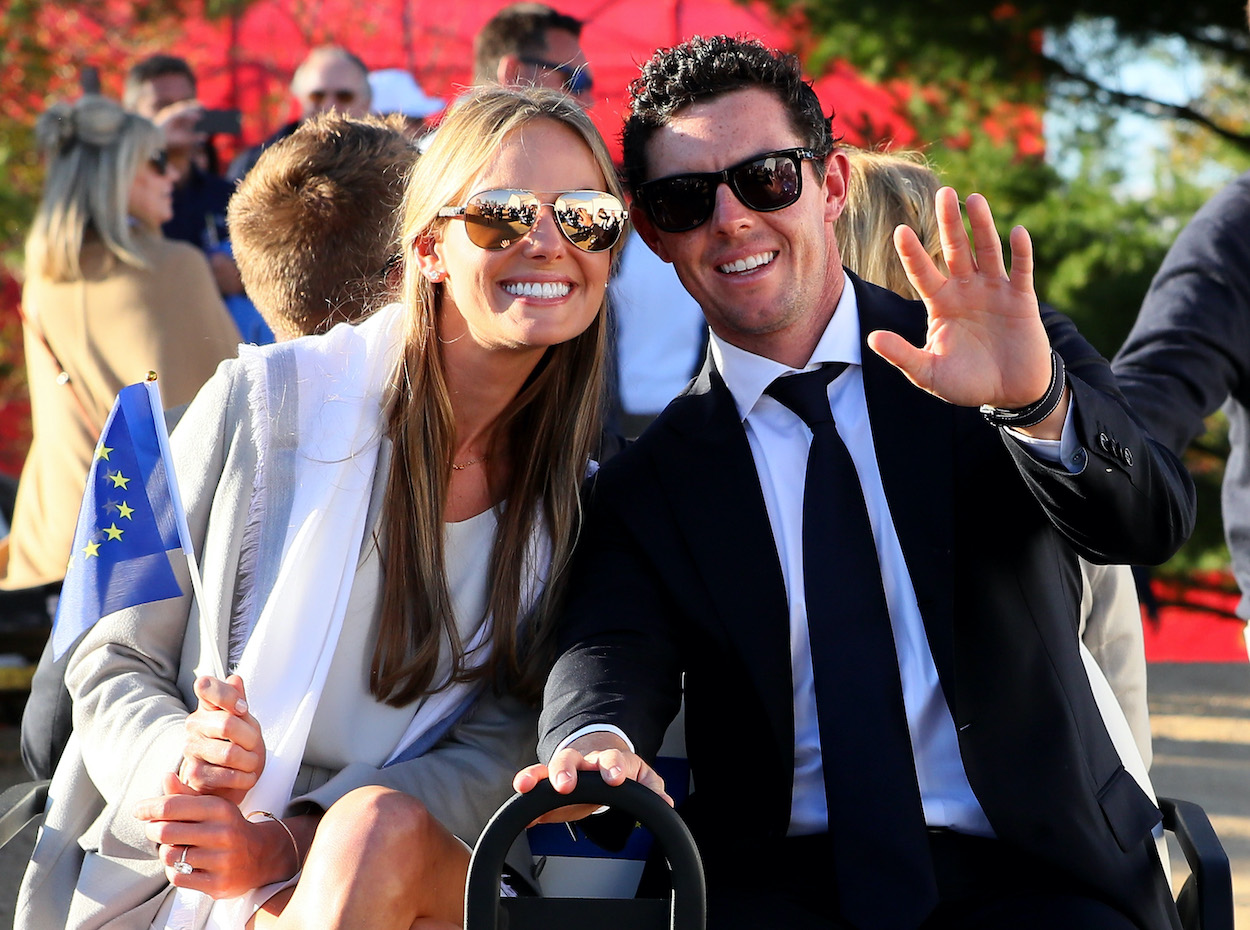 Rory McIlroy has been married to his wife, Erica Stoll, for four years, but he never would've met her if for a time mixup in 2012.