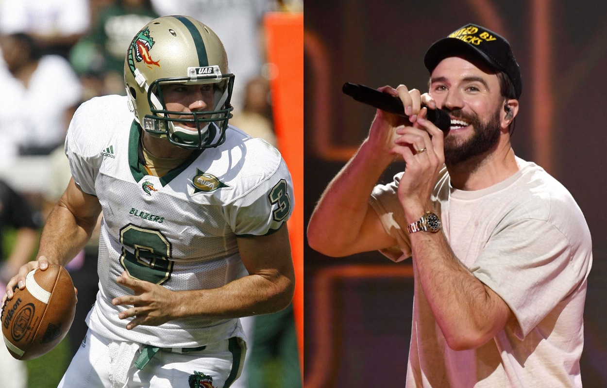 Country Music Star Sam Hunt Started at Quarterback in College and Nearly Upset Adrian Peterson and the Oklahoma Sooners