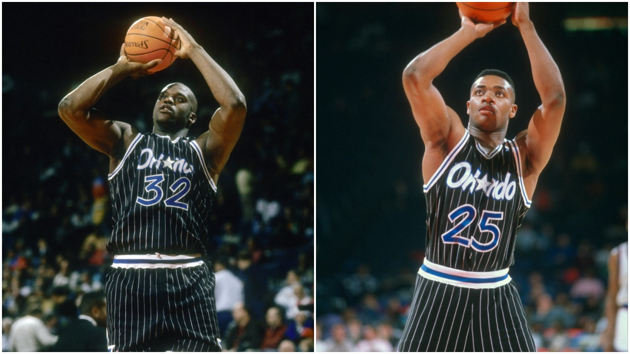 An Iconic Shaquille O'Neal Moment Overshadowed a Record-Setting Performance by Magic Teammate Nick Anderson