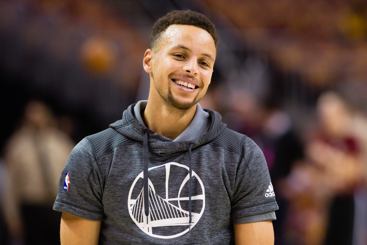 Stephen Curry Is a $130 Million NBA Superstar, but His Son Thought He Was a Pro Athlete in a Completely Different Sport