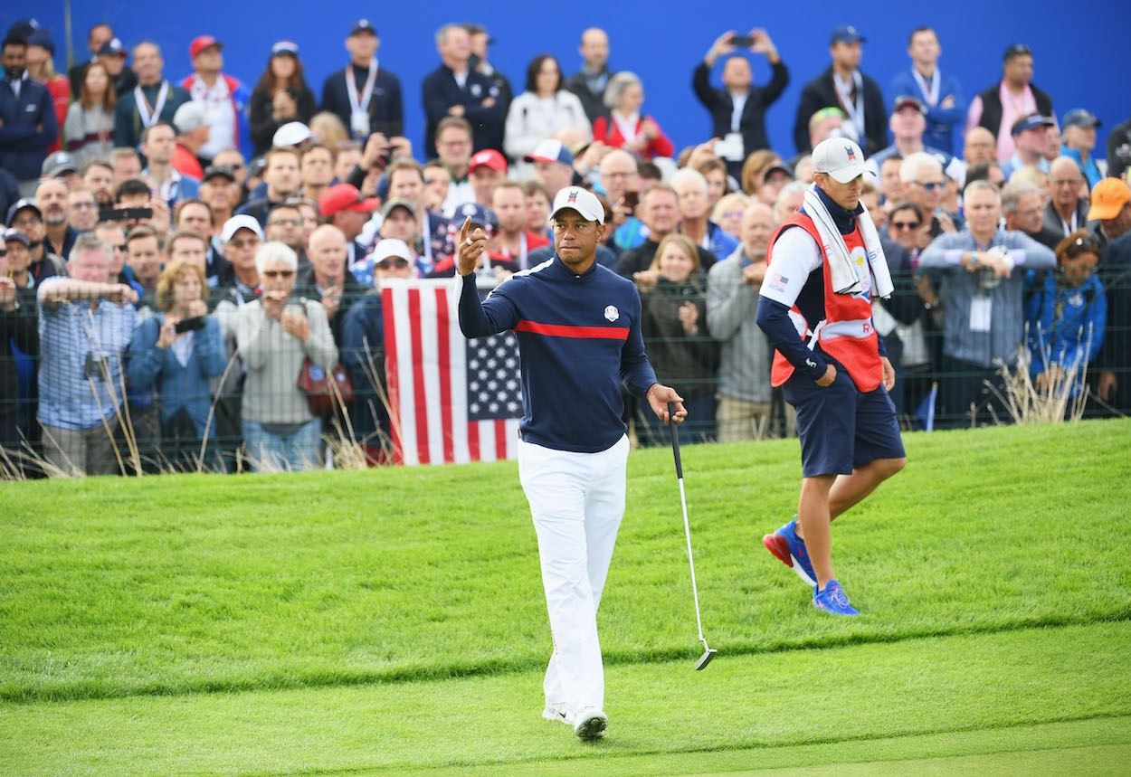 Tiger Woods Is Already Being Summoned Back to the Golf Course in the Name of His Country