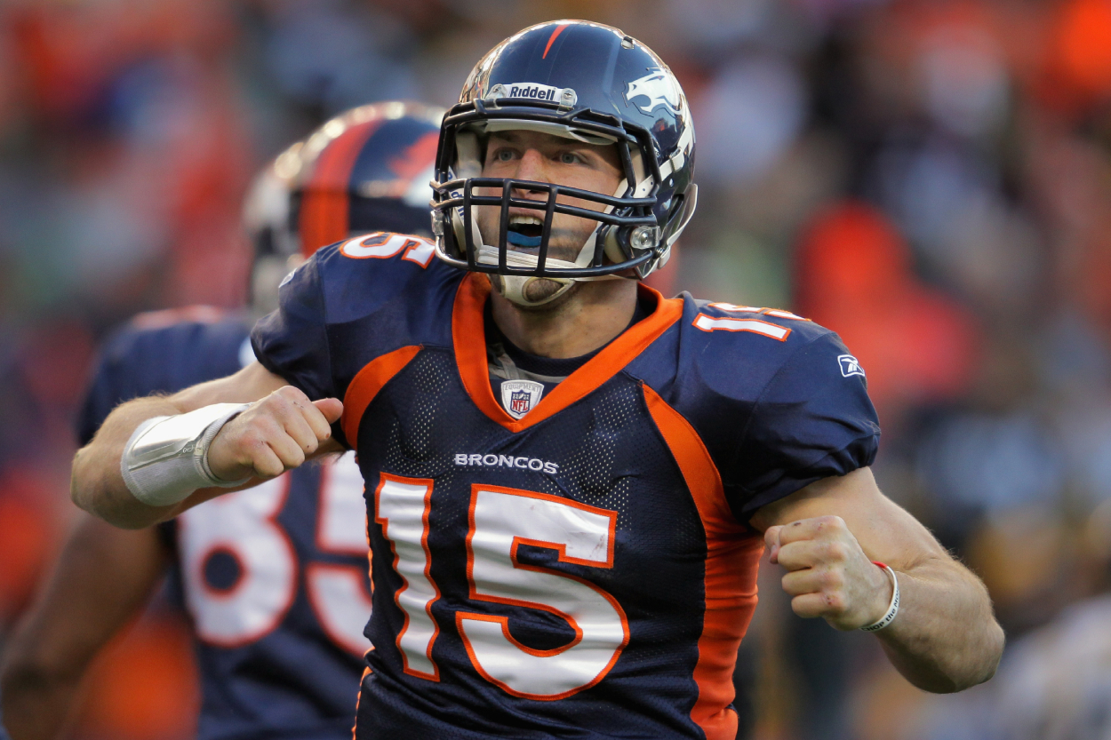 Tim Tebow Gets Called out by a Pro Football Hall of Famer Who Says He's 'Addicted to Fame'
