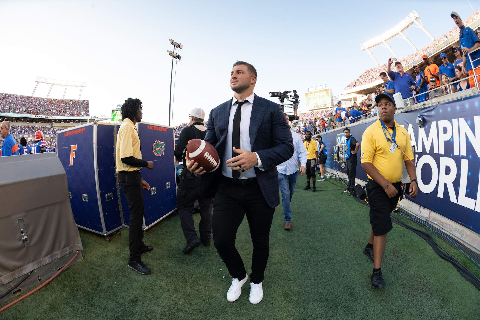 Can Tim Tebow Really Play Tight End? A Former Jacksonville Jaguar Thinks He Might Be Able to 'Get it Done'