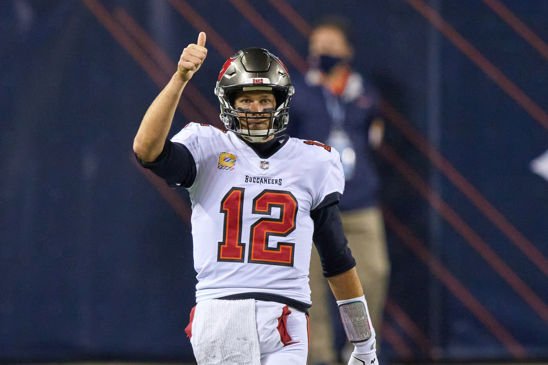 Tom Brady Is Already 'Fired Up' About His Newest Weapon on the Tampa Bay Buccaneers Roster