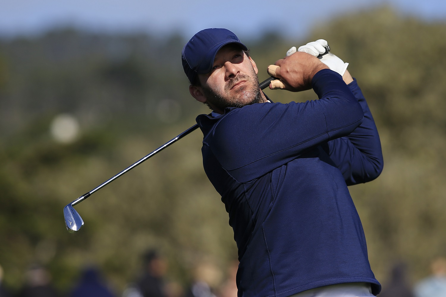Tony Romo is an accomplished golfer, but he has once again fallen short in an attempt to qualify for the U.S. Open. | Chris Trotman/Getty Images