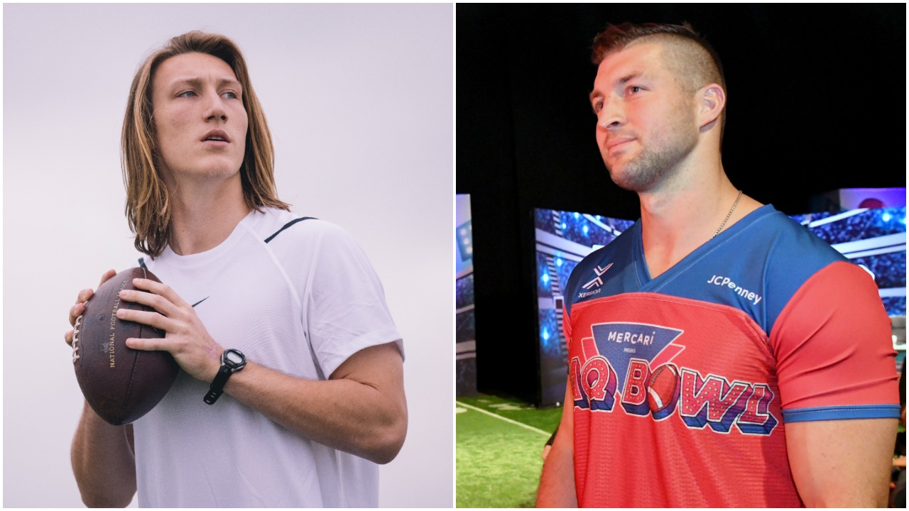 Trevor Lawrence Gushes Over Tim Tebow, Discusses the Extremely High Expectations of Being the No. 1 Overall Pick