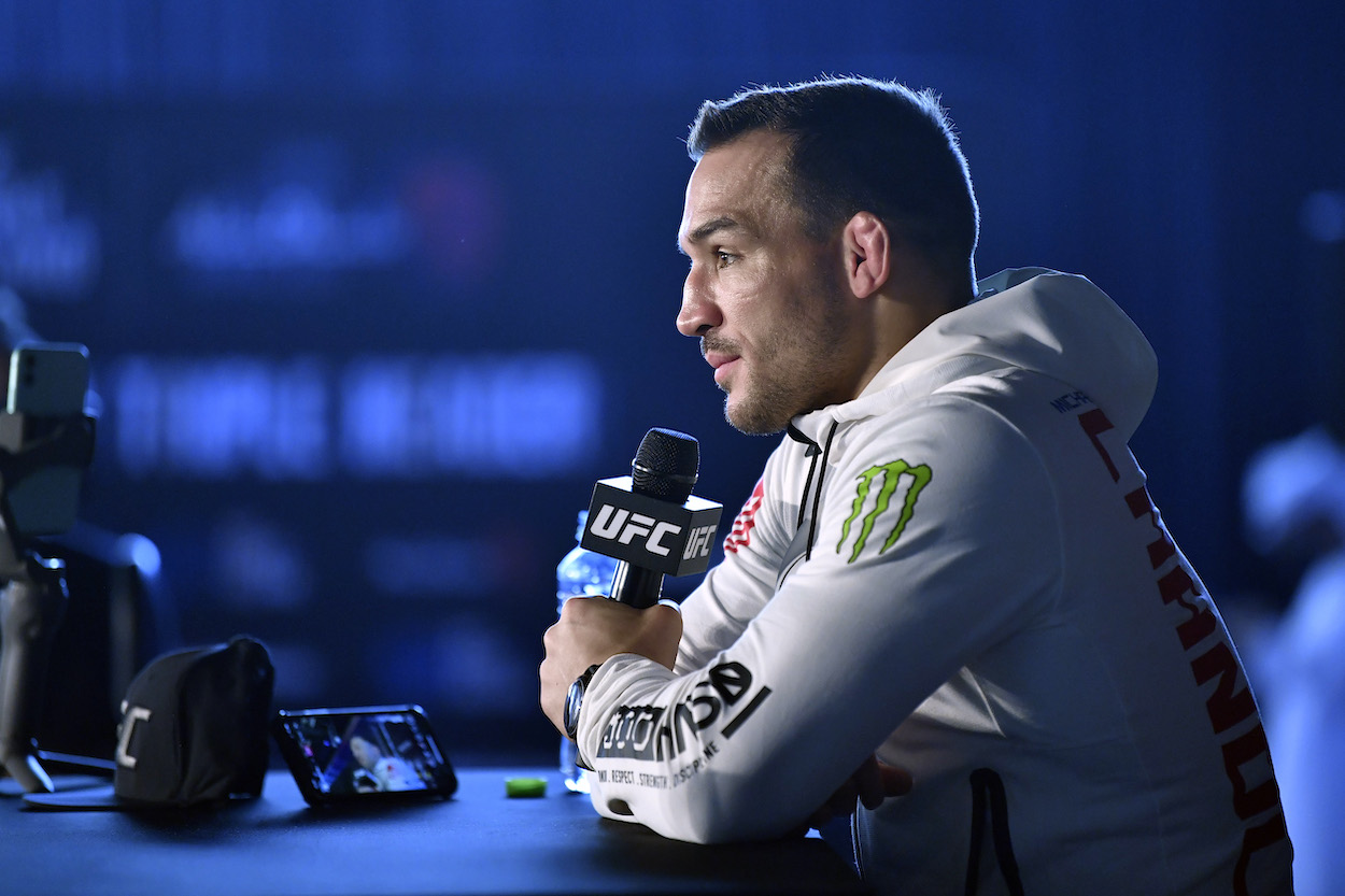 Michael Chandler Will Do Anything to Compete Even as a Backup: 'I Haven't Enjoyed a Meal in 8 Weeks'