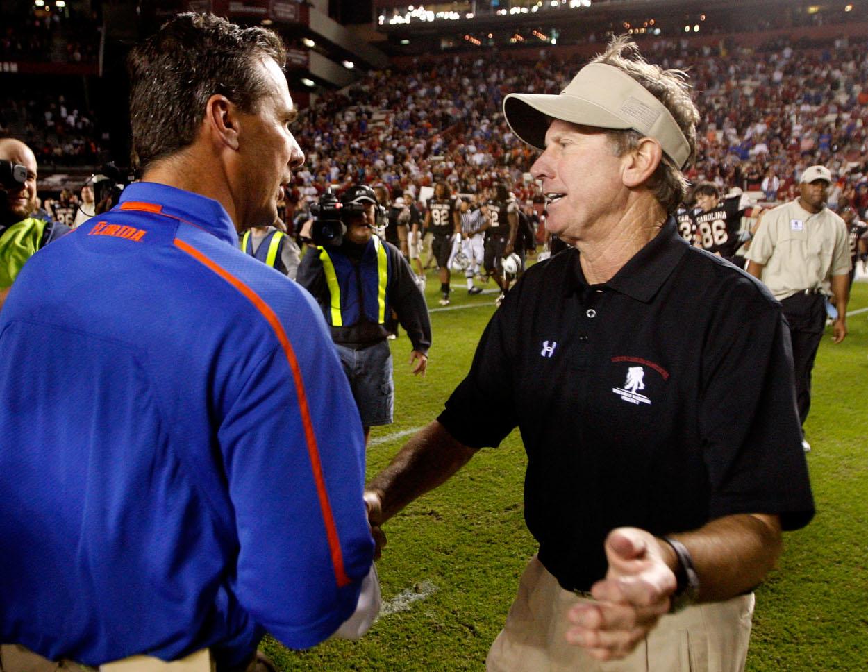 Urban Meyer Should Be Careful Following the Steve Spurrier Blueprint in Jacksonville