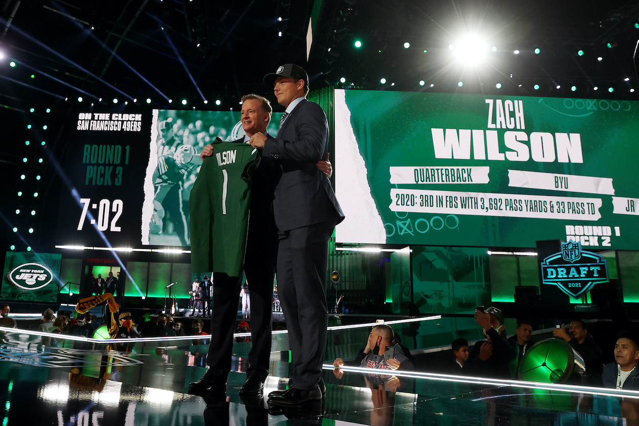 New York Jets' Zach Wilson Picks a Jersey Number Worn by 3 of the Biggest Draft Busts in NFL History