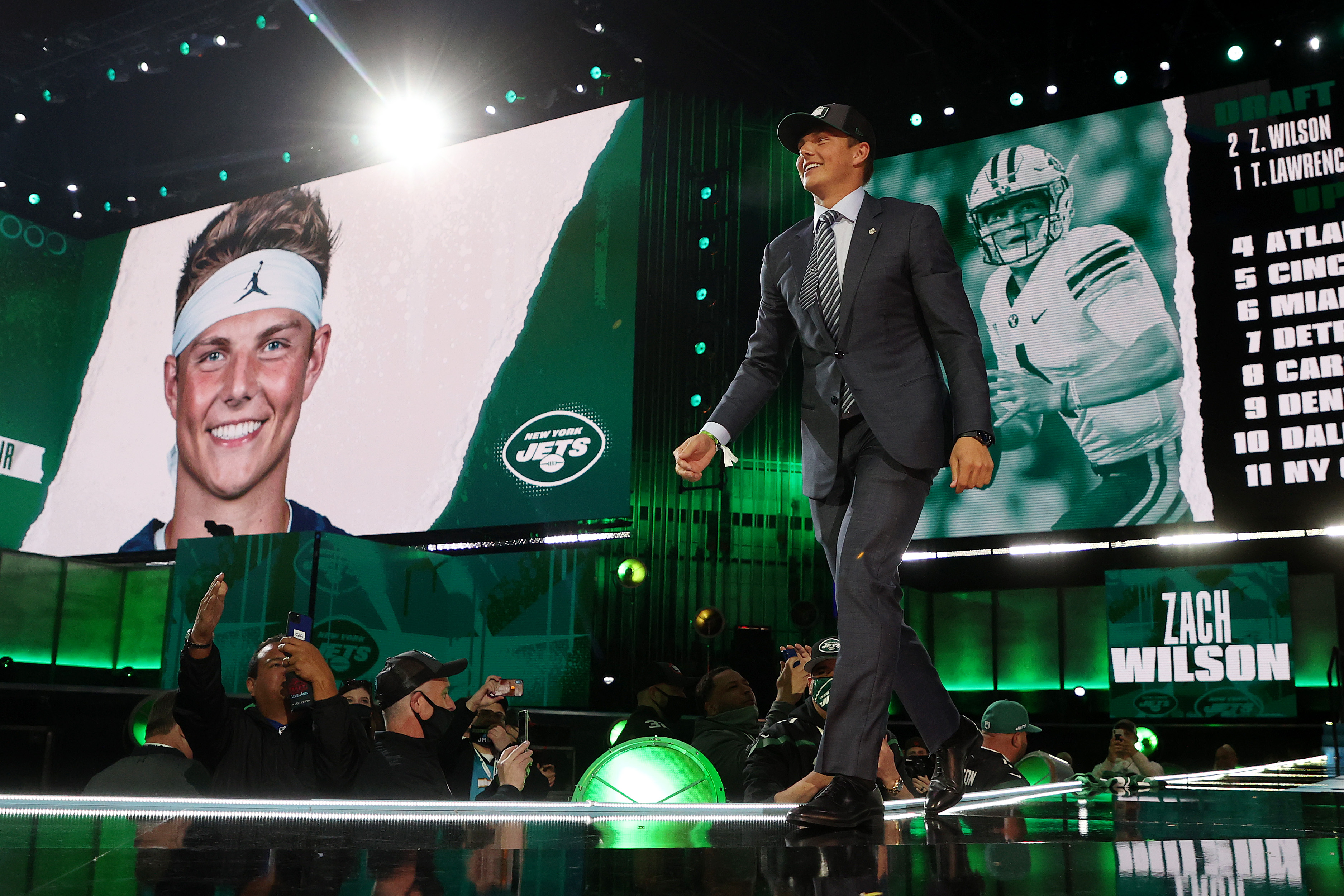 The New York Jets Did Something in the 2021 NFL Draft That ESPN's Scouting Service Has Rarely Seen Before