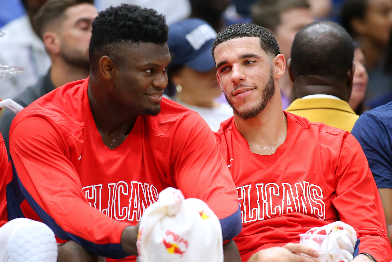 Zion Williamson Thinks 'It'd be Dope' if Lonzo Ball Comes Back to Pelicans