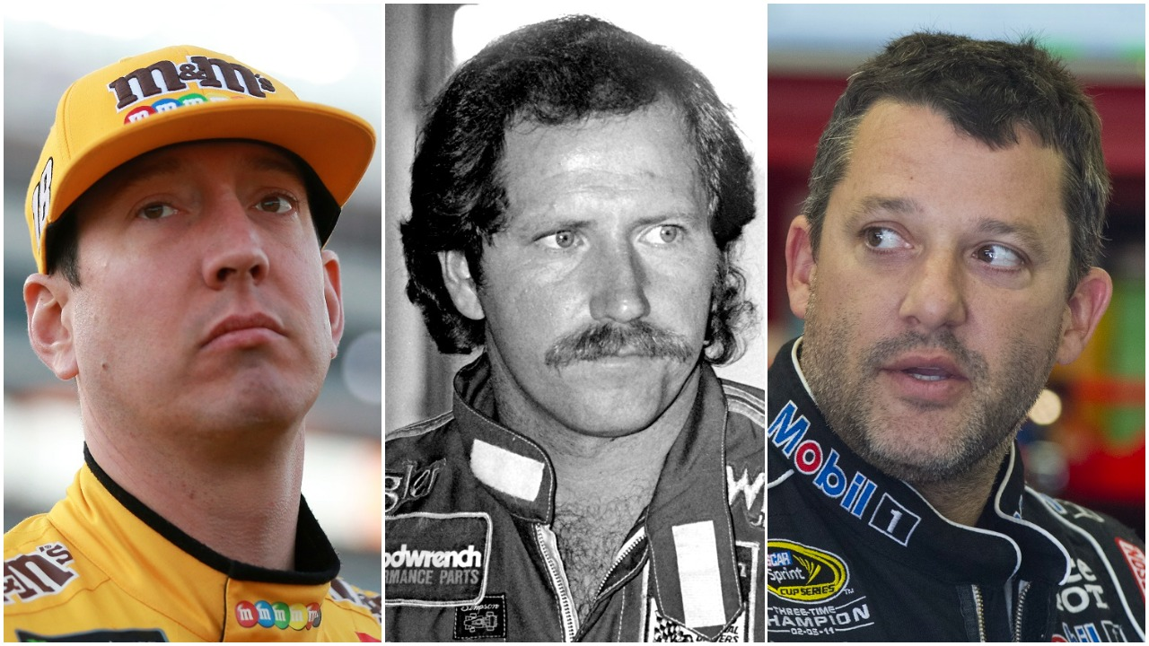 Well-known drivers Kyle Busch, Dale Earnhardt Sr., and Tony Stewart are among the racing figures featured in 'Renegades: The Bad Boys of NASCAR' on Fox Sports 1.   Getty Images