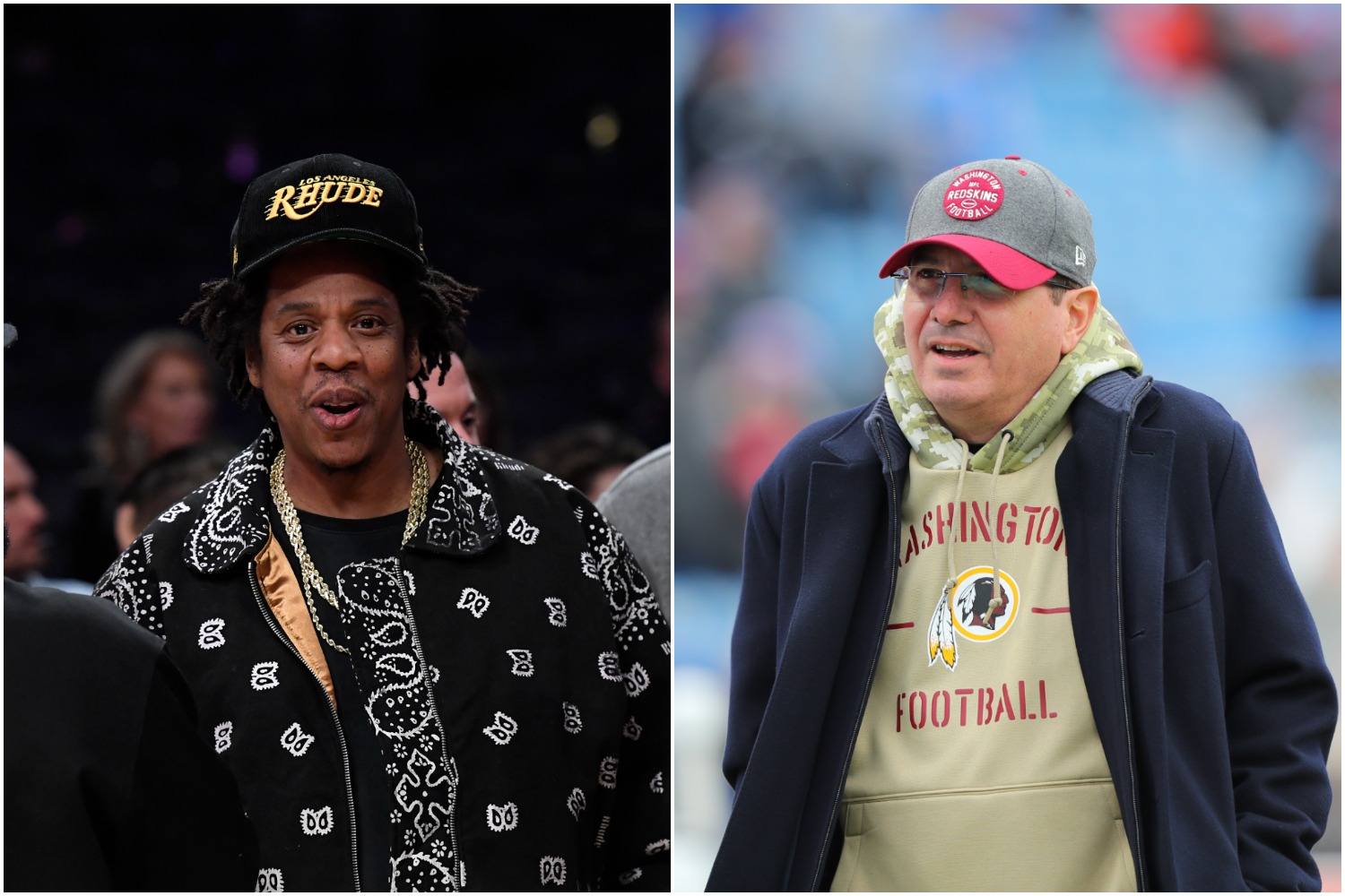 Dan Snyder Could Soon Cease Partial Control of the Washington Football Team to Legendary Rapper Jay-Z