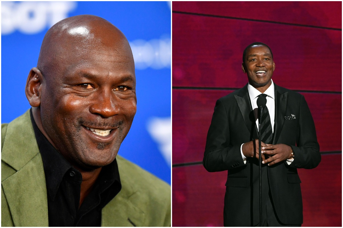 Michael Jordan Watched Isiah Thomas Call Him the Best Basketball Player He's Ever Seen on National Television and Felt 'Proud About It'
