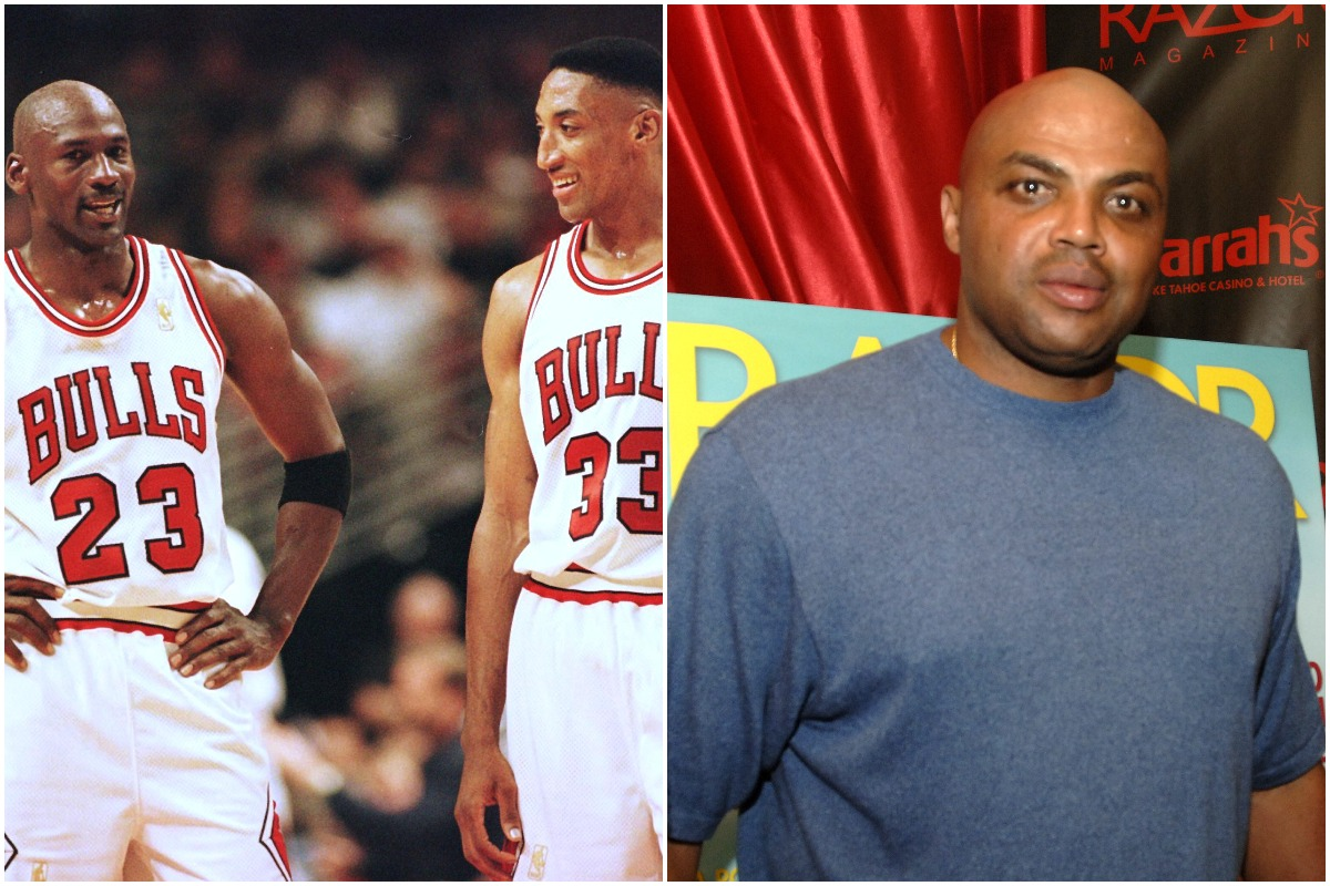 Michael Jordan Was Trolled by Charles Barkley During 1 of Scottie Pippen's Greatest Basketball Achievements