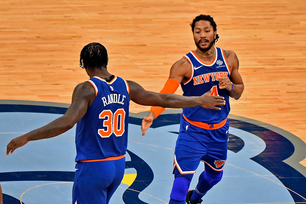 Derrick Rose helped the New York Knicks to a turnaround