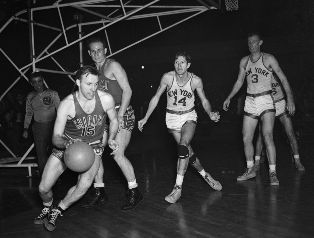 Before the Chicago Bulls, there was the Chicago Stags