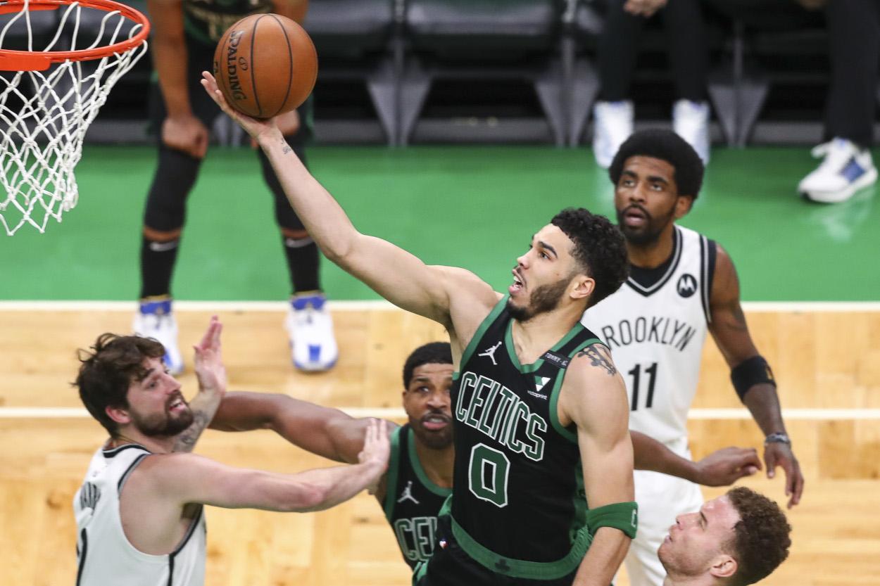 Boston Celtics Star Jayson Tatum Has A Scoring Feat Not Even Michael Jordan Or Wilt Chamberlain Accomplished