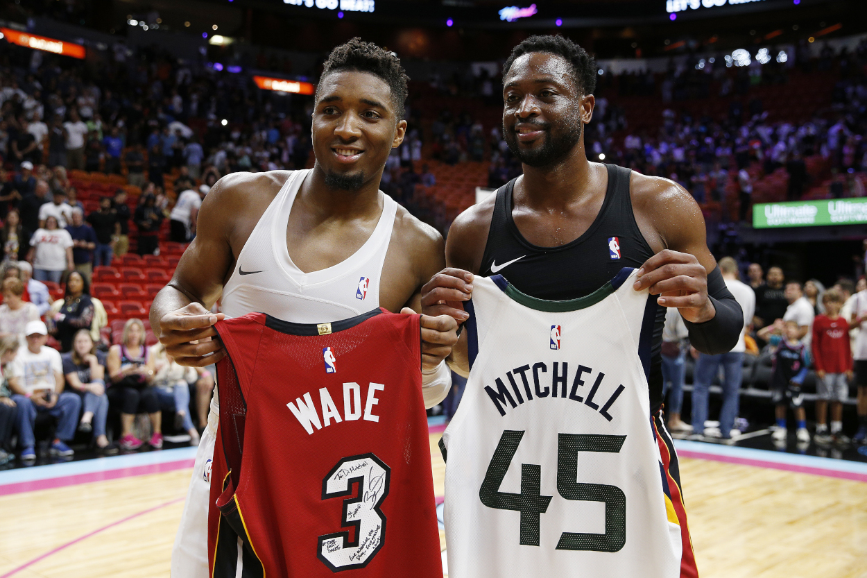 Do the Utah Jazz Need Dwyane Wade to Come to the Rescue After Stunning Game 1 Loss to Grizzlies?