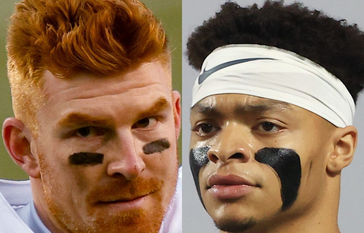 Andy Dalton Isn't Concerned About Justin Fields Creeping Behind Him in the Bears' QB Battle: 'I Knew the Situation'