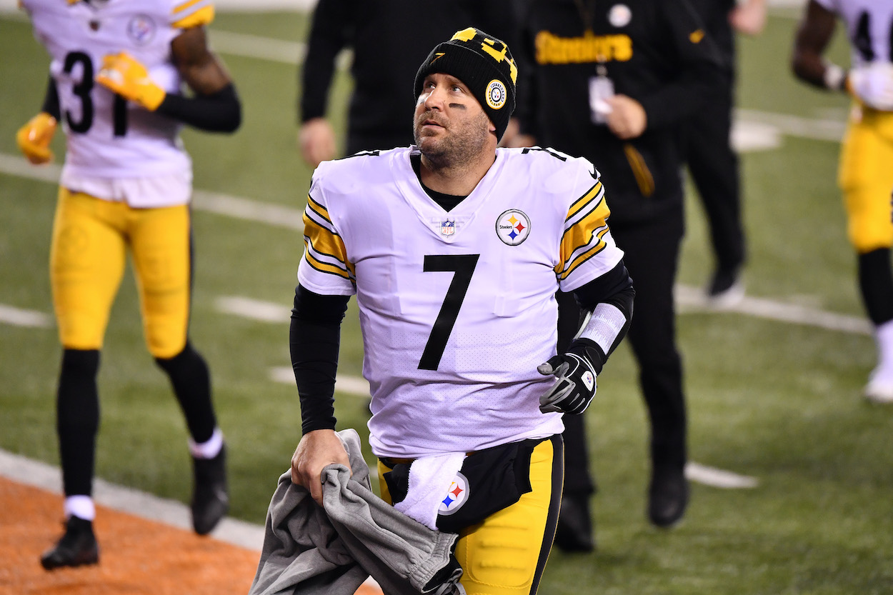 Ben Roethlisberger Claims it was His Idea to Take a $5 Million Pay Cut