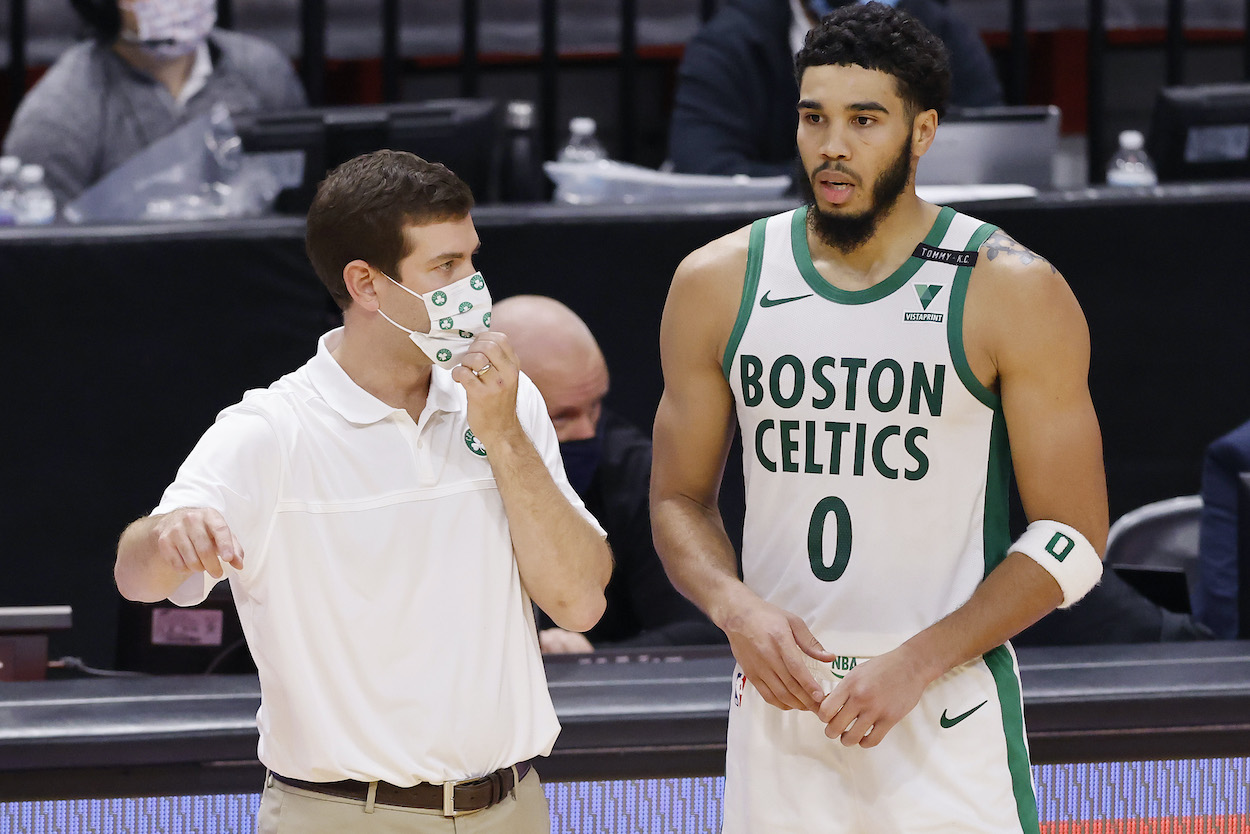 Jayson Tatum Openly Casts His Vote for Who He Wants to Become the Celtics Next Head Coach