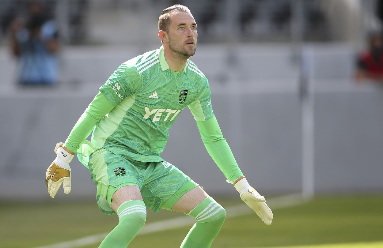 Austin FC Goalkeeper Brad Stuver Making Most of Opportunity After Years of Patiently Waiting on Bench