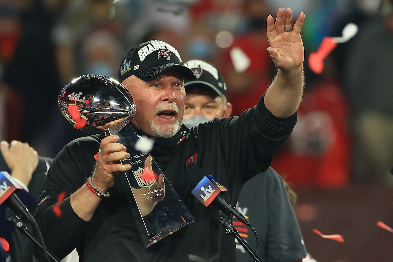 Bruce Arians Barely Makes the Top 10 in 2021 NFL Coach Rankings