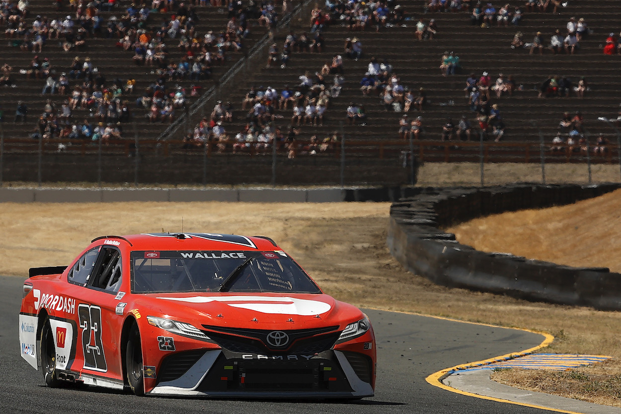 Michael Jordan Watches Bubba Wallace at Sonoma in Midseason Performance Review and Realizes His Lofty Preseason Prediction for 23XI Racing Was Completely Wrong