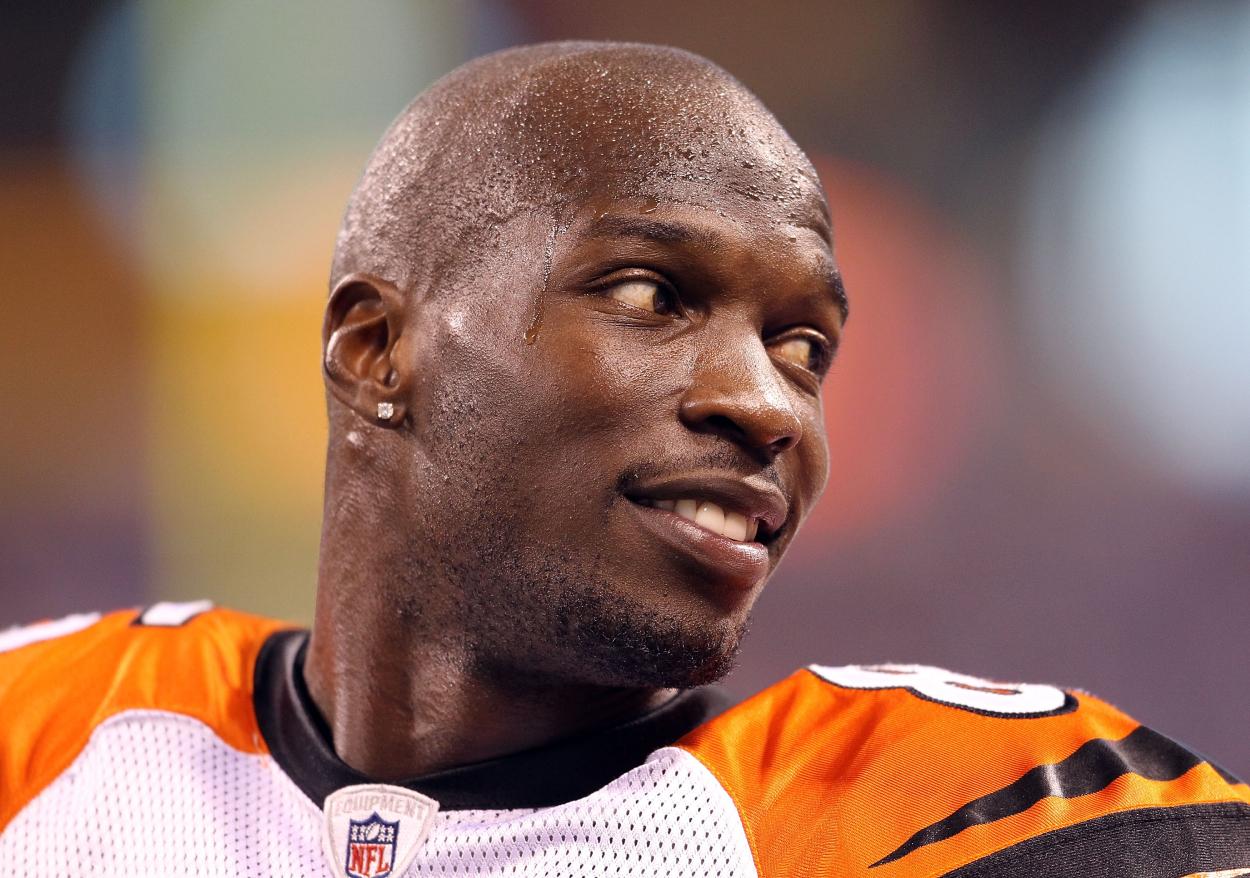 Former Cincinnati Bengals wide receiver Chad Johnson, aka Chad Ochocinco.