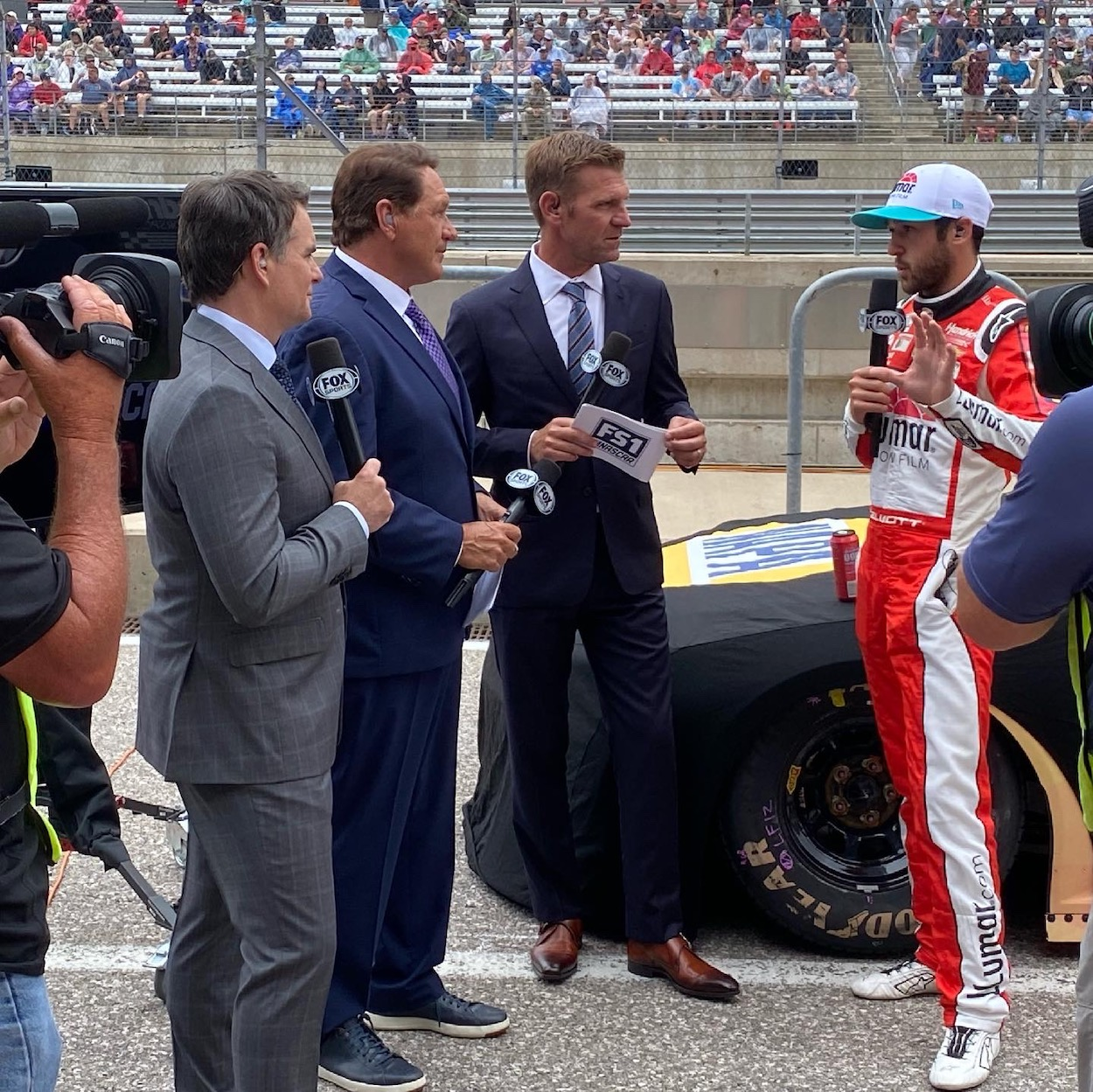Clint Bowyer Candidly Admits He Was 'Super Bummed' Working With Jeff Gordon and Fox This Season