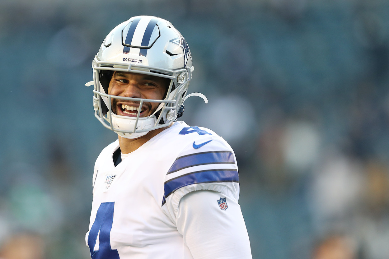 Dak Prescott Knew His Surgically Repaired Ankle Was Healed When He Went Dancing on Cinco de Mayo