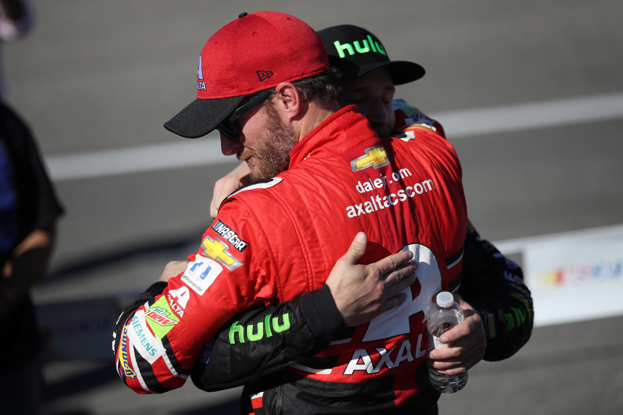 NASCAR Legend Dale Earnhardt Jr. and Nephew Jeffrey Explained What It's Like to Carry the Famous Family Name