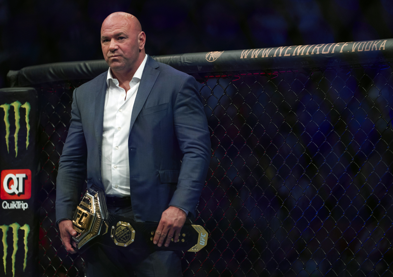 UFC Lost a Staggering $110 Million at the Gate in 2020 and Still Had Its Best Year, Says 'Unpopular' Dana White