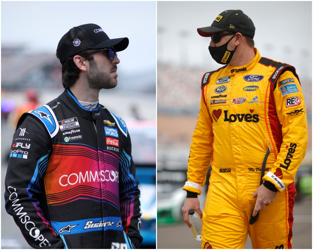 Daniel Suarez Doesn't Back Down and Sends Direct Message to Michael McDowell in Escalating Feud After Sonoma: 'Not Taking BS'