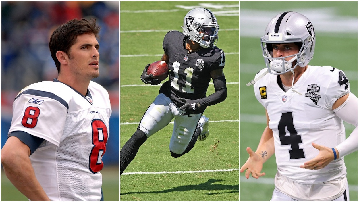 Derek Carr's Brother Calls Out Las Vegas Raiders QB's Second-Year Receiver Henry Ruggs III