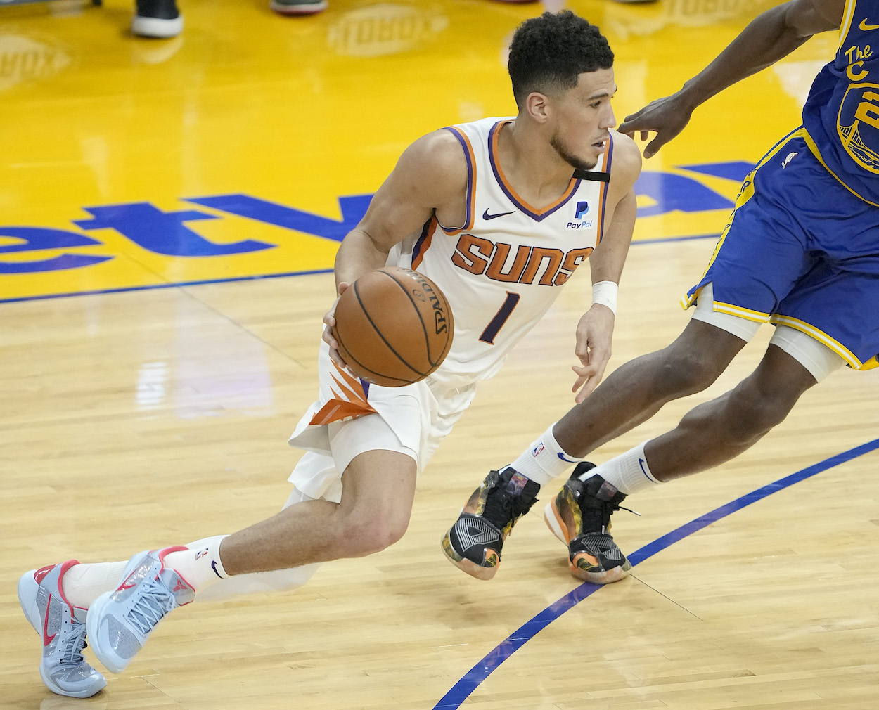 Devin Booker Credits Having a Basketball Legend 'Right in Your Backyard' For His Success