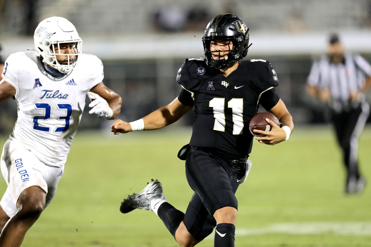 UCF's Dillon Gabriel Is Already the 2022 NFL Draft's Most Underrated Quarterback Prospect