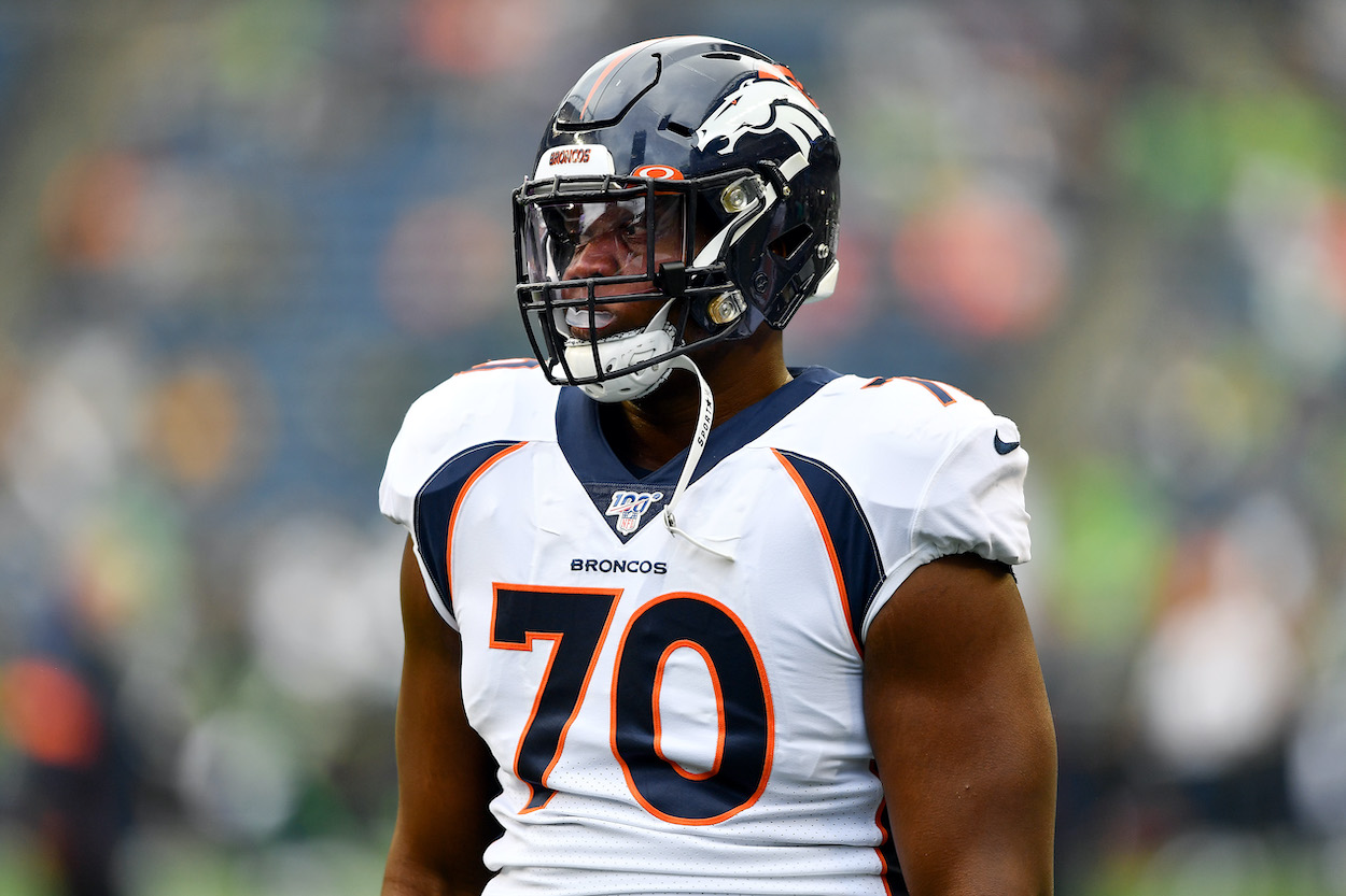 See how former Denver Broncos offensive lineman Ja'Wuan James is seeking $15 million against his old team for unfairly cutting him.