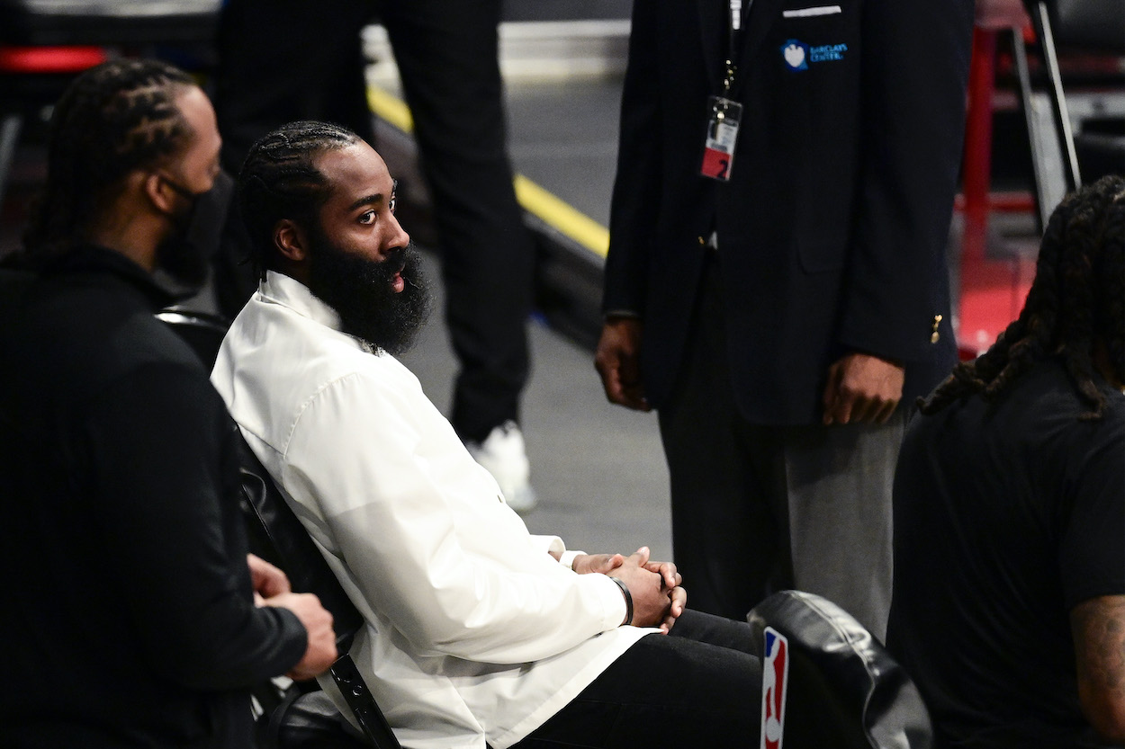See how long it will take James Harden to recover from his hamstring injury and rejoin the Brooklyn Nets for an NBA Finals run.