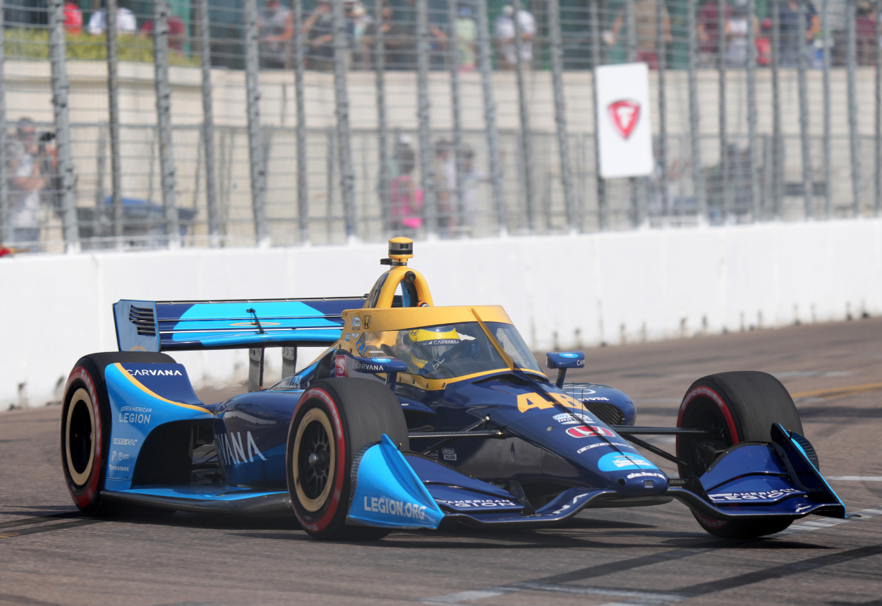 Former NASCAR Star Jimmie Johnson Choosing Happiness Over Competitiveness With IndyCar Racing