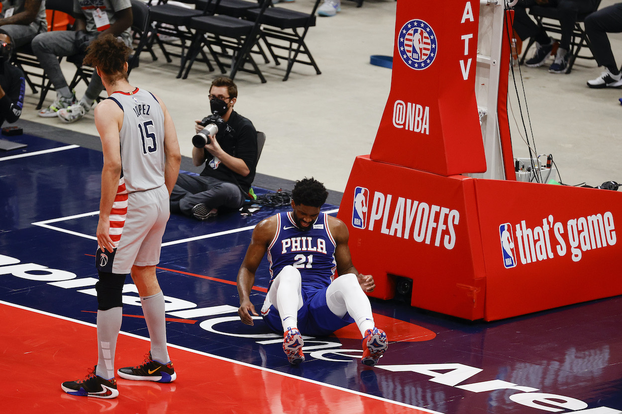 Sixers Fans Should Be Extremely Worried About the Initial Diagnosis of Joel Embiid's Injury
